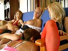 Piss  Six Lesbians Pissing