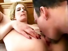 Cuckold Hubby Cleans Babs Load