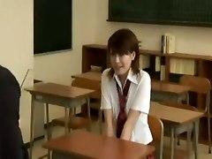 Japanese Schoolgirl Fucking In A Classroom